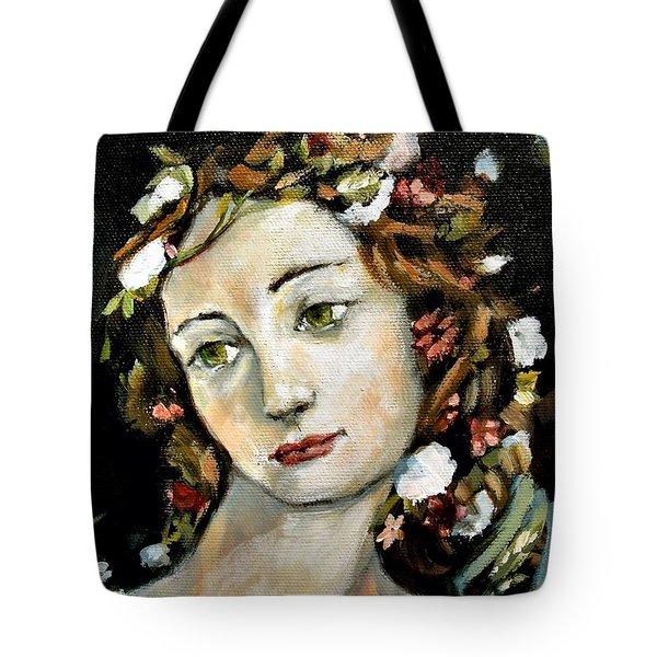 Flora Detail Tote Bag