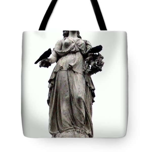 Tote Bag featuring the photograph Raven's Friend by Salman Ravish