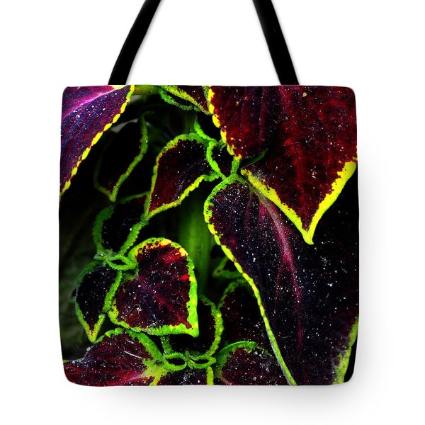 Flora Psychadelica Tote Bag