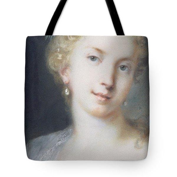 Flora Tote Bag by Rosalba Giovanna Carriera