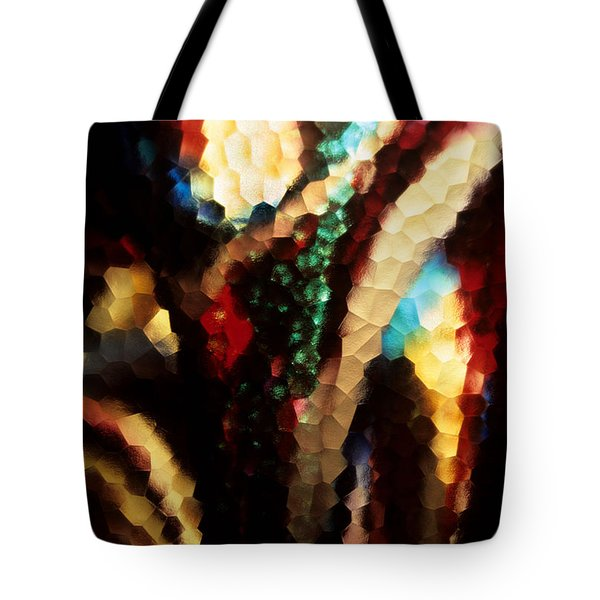 Tote Bag featuring the photograph Floral Abstract I by Sharon Elliott
