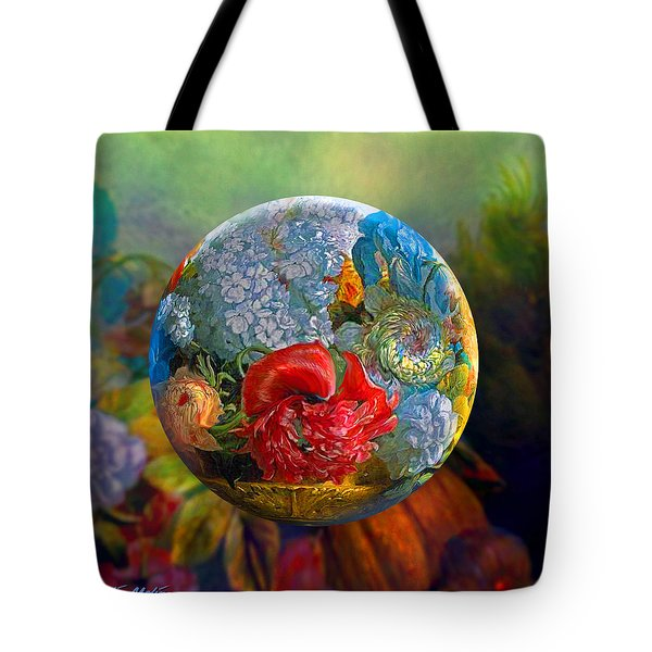 Floral Ambrosia Tote Bag by Robin Moline