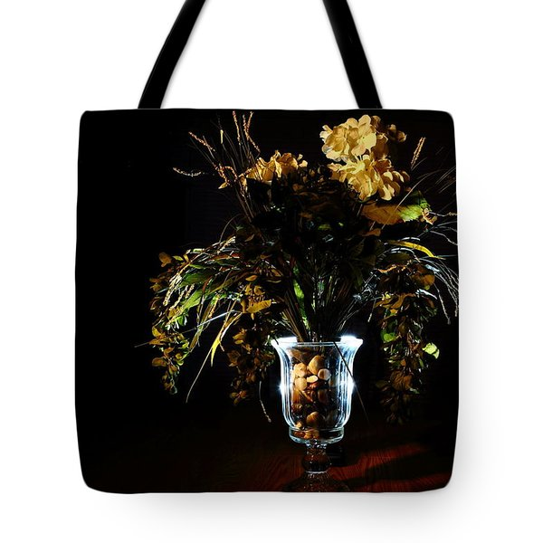 Tote Bag featuring the photograph Floral Arrangement by David Andersen