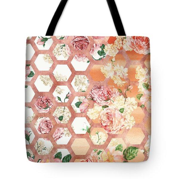 Floral Art Tote Bag