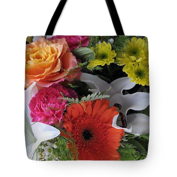 Floral Bouquet 7 Tote Bag