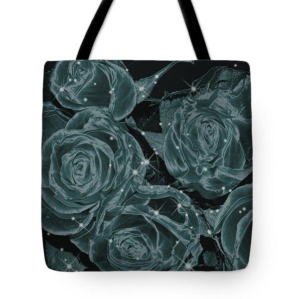 Floral Constellation Tote Bag