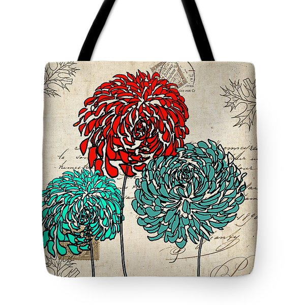 Floral Delight Iv Tote Bag