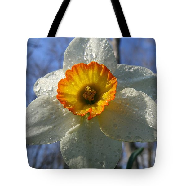 Floral Dew  Tote Bag by Neal Eslinger