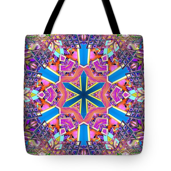 Floral Dreamscape Tote Bag