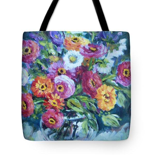Floral Explosion No. 2 Tote Bag