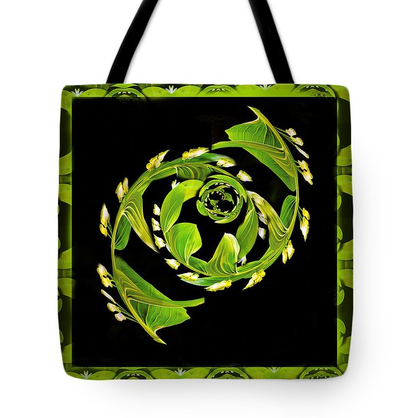 Floral Fantasia Tote Bag by Jean Noren