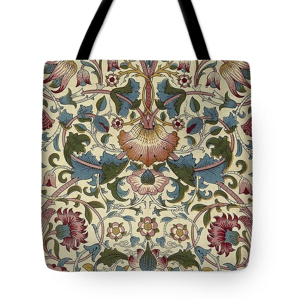 Floral Pattern Tote Bag by William Morris