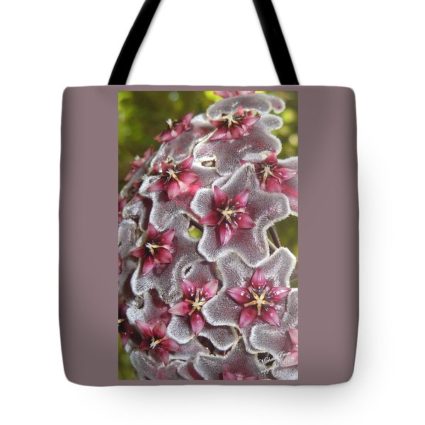 Floral Presence - Signed Tote Bag