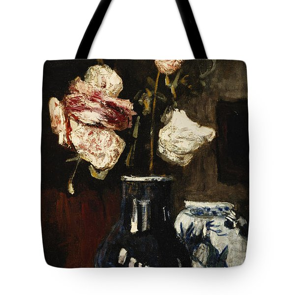 Floral Still Life Tote Bag by Roderic O Conor