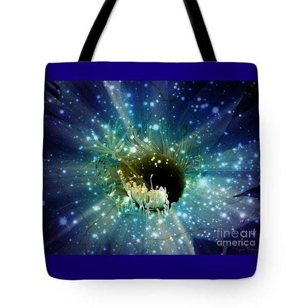 Floral Stratosphere Tote Bag