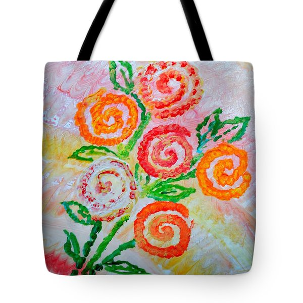 Floralen Traum Tote Bag