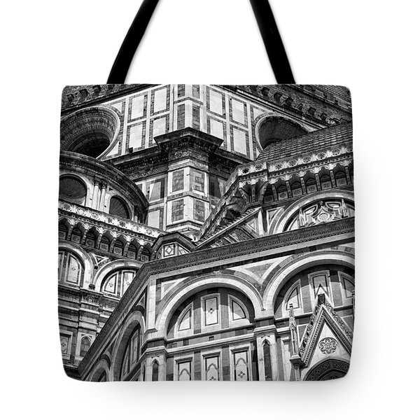 Florence Cathedral And Brunelleschi's Dome Tote Bag