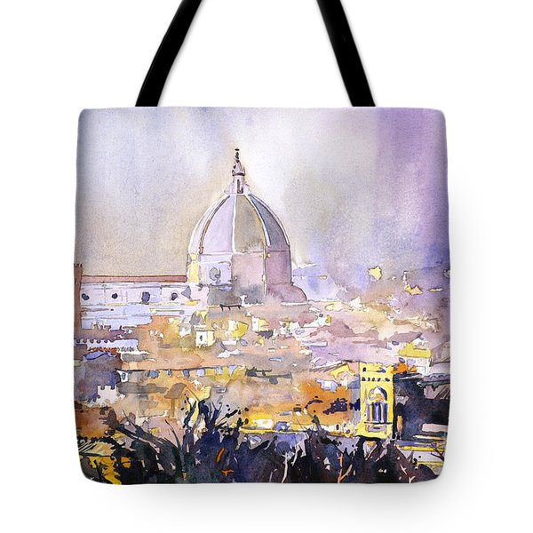 Florence Duomo Tote Bag by Ryan Fox