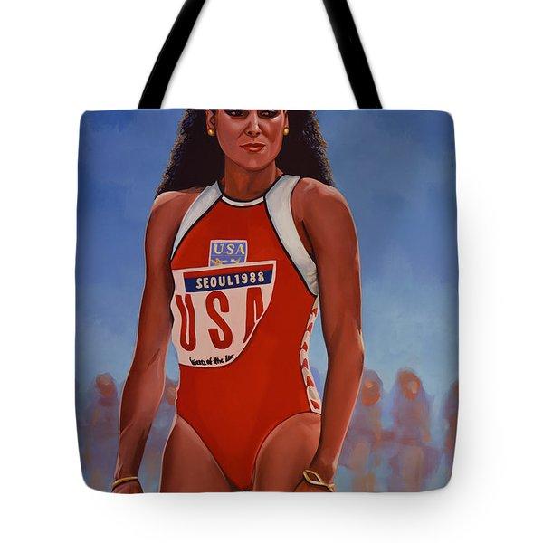 Florence Griffith - Joyner Tote Bag
