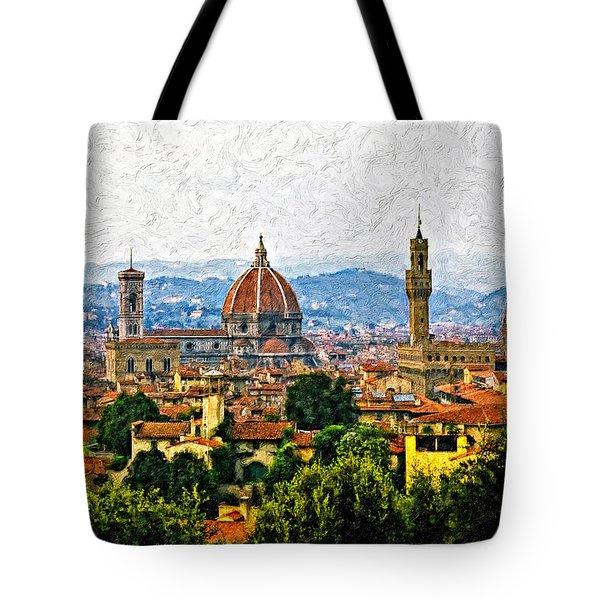 Florence Impasto Tote Bag