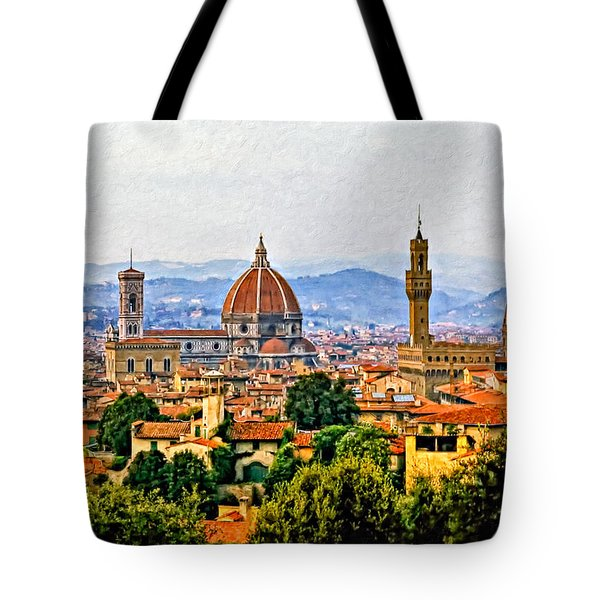 Florence - Oil Tote Bag