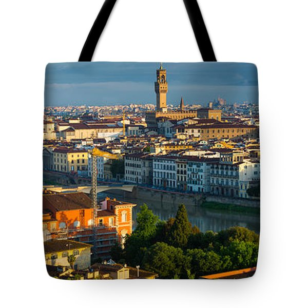 Florence Panorama Tote Bag by Inge Johnsson