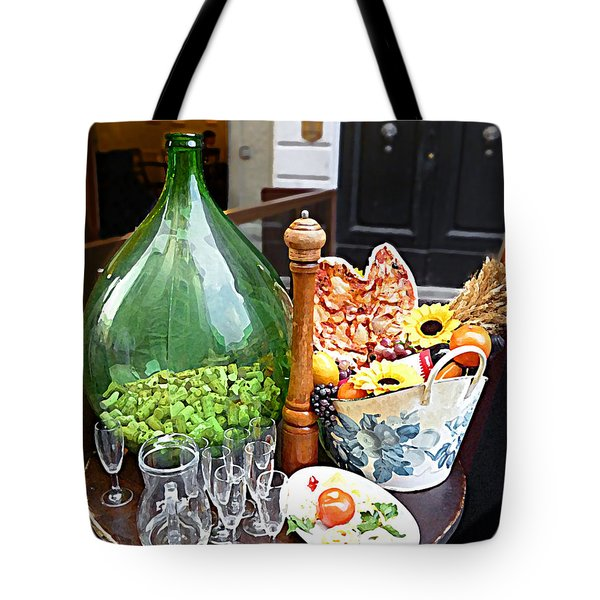 Florentine Still Life Italy Florence Tote Bag