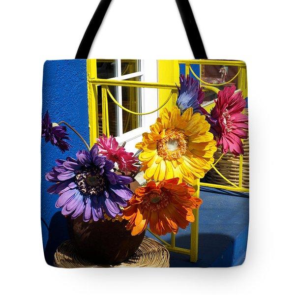 Flores Colores Tote Bag