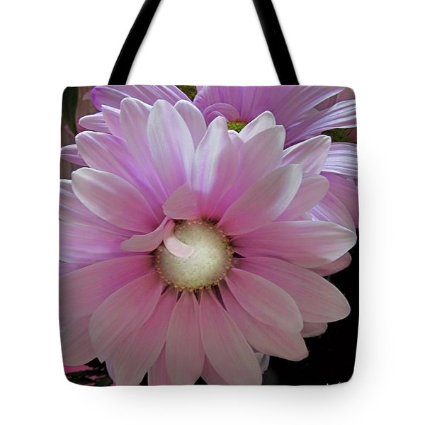 Florescence In Lavender Pink Tote Bag by Danielle  Parent