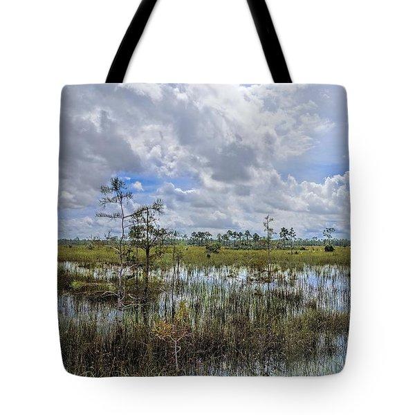 Florida Everglades 0173 Tote Bag by Rudy Umans