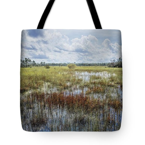 florida Everglades 0177 Tote Bag by Rudy Umans