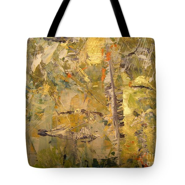 Tote Bag featuring the painting Florida Feather by Nancy Kane Chapman