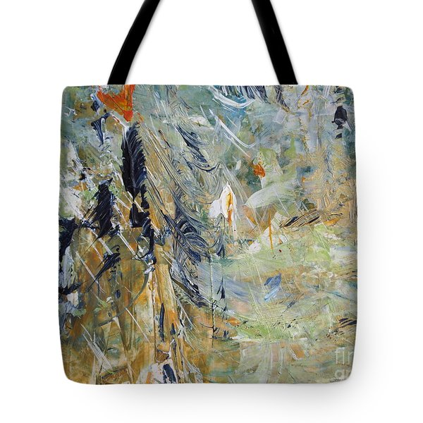 Tote Bag featuring the painting Florida Flyaway by Nancy Kane Chapman