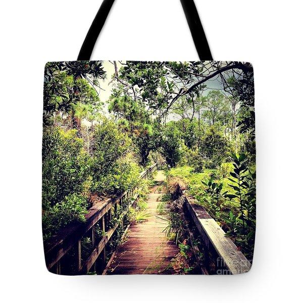 Florida Foliage 2 Tote Bag by K Simmons Luna