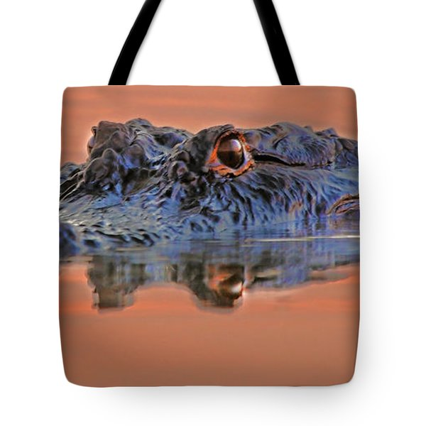 Alligator For Florida  Tote Bag