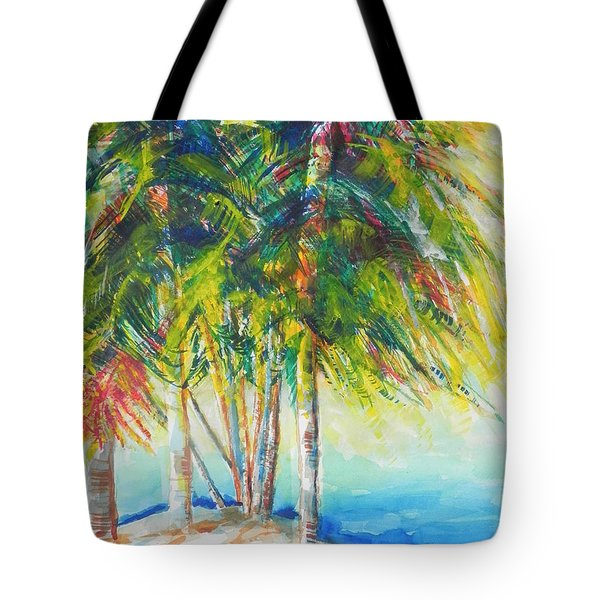 Florida Inspiration  Tote Bag by Chrisann Ellis