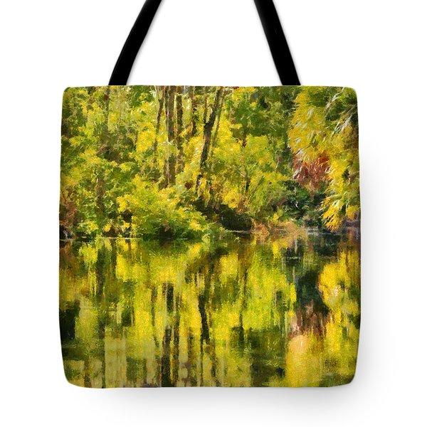Florida Jungle Tote Bag by Christine Till