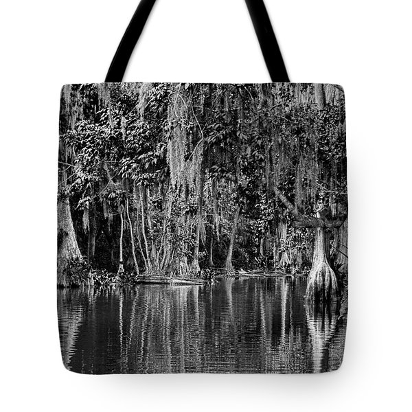Florida Naturally 2 - Bw Tote Bag