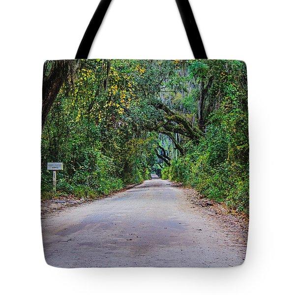 Florida Road Tote Bag