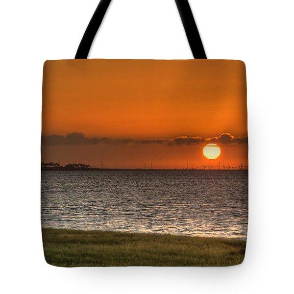Florida Sunrise Tote Bag by Jane Luxton