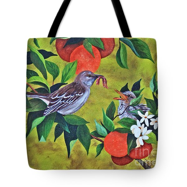 Florida Symbols Tote Bag