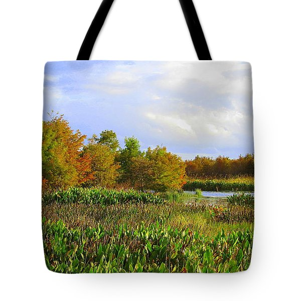 Florida Wetlands August Tote Bag