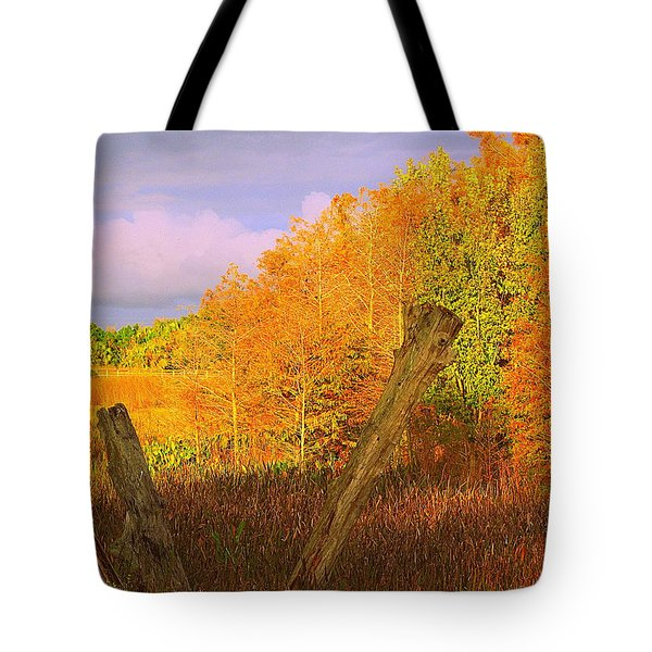 Florida Wetlands  Tote Bag