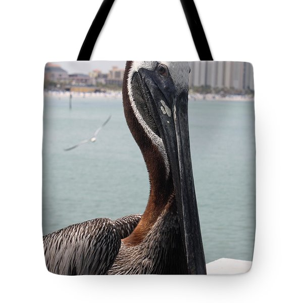 Tote Bag featuring the photograph Florida's Finest Bird by David Nicholls