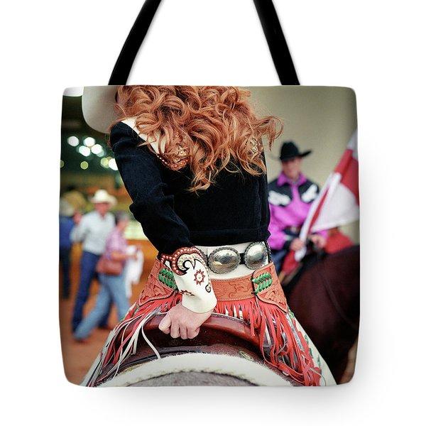 Floridas Miss Rodeo, Tiffany Brown Sits Tote Bag