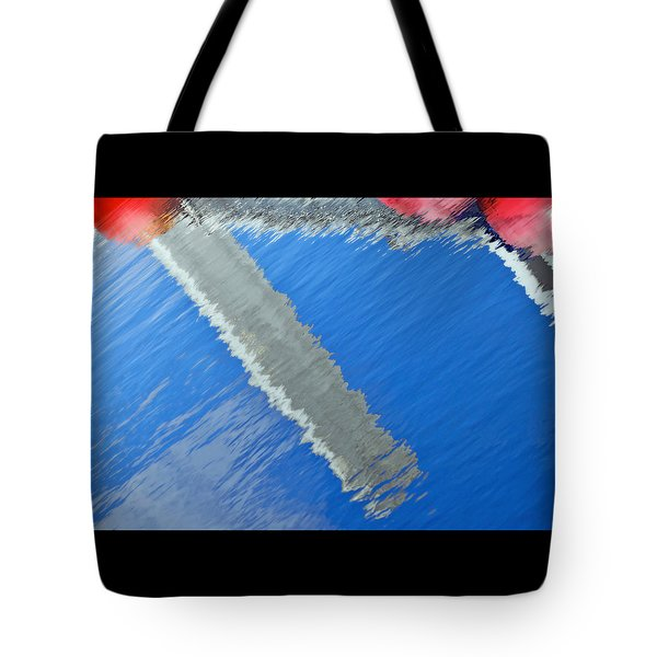 Floridian Abstract Tote Bag by Keith Armstrong