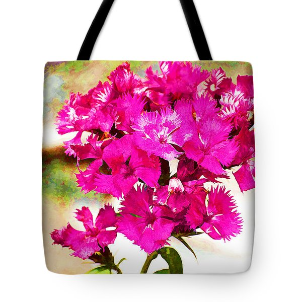 Tote Bag featuring the photograph Flourish by Yew Kwang