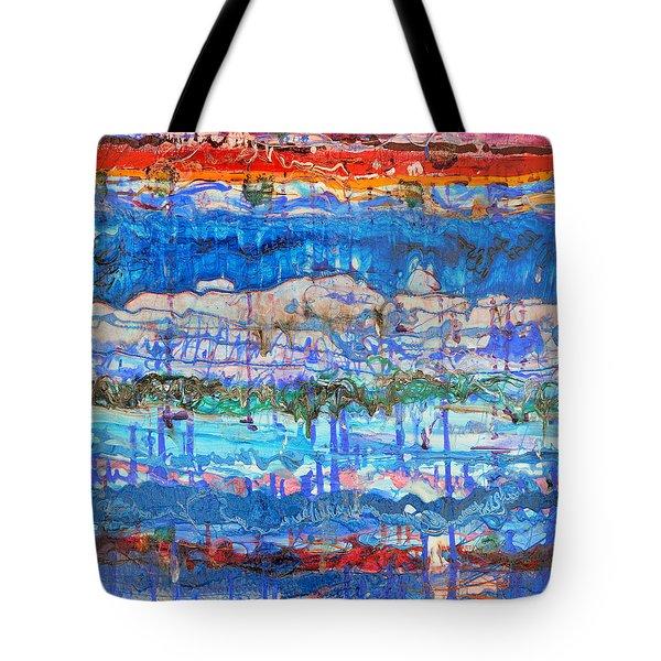 Flow Instability Tote Bag by Regina Valluzzi