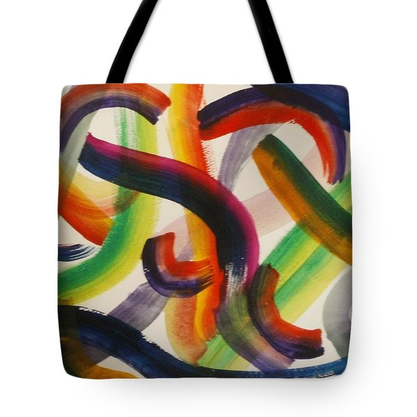 Flow Tote Bag by Thomasina Durkay