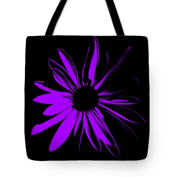 Tote Bag featuring the digital art Flower 10 by Maggy Marsh